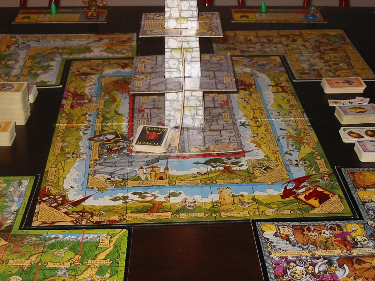 Giochi in scatola intrattenimento per la famiglia e gli - Talisman gioco da tavolo prezzo ...